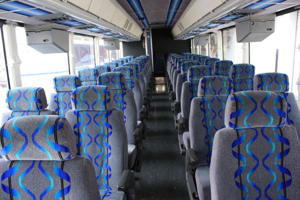 Charter Coach Bus Interior