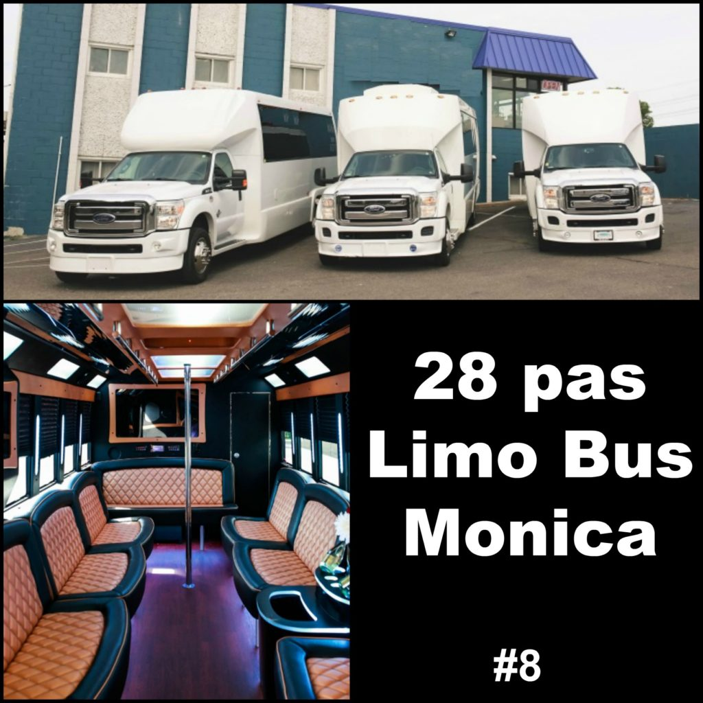 28 pas Limo Bus 8 Monica